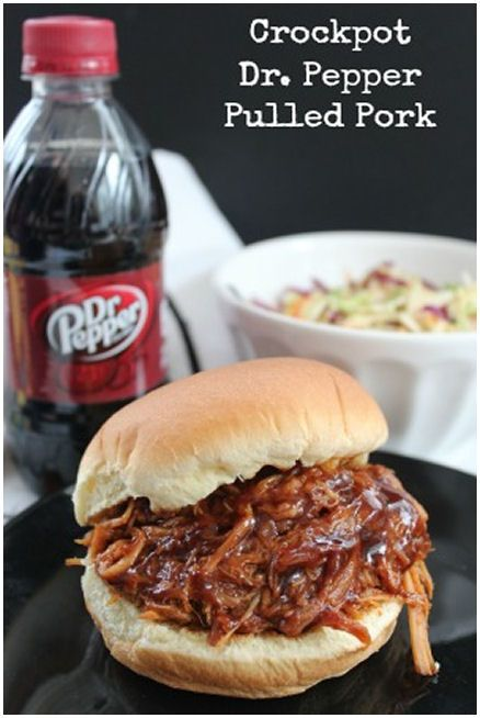 Pork Recipes, Crock Pot, Pulled Pork Recipe, Peppers Pulled, Dr ...