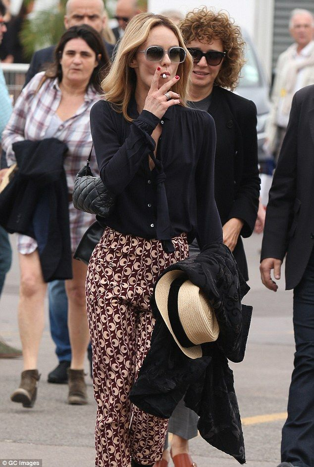 Motherly duties: Vanessa Paradis, 43, stepped out in style at The Palais des Festivals in Cannes, France to show Lily her support for her new movie The Dancer