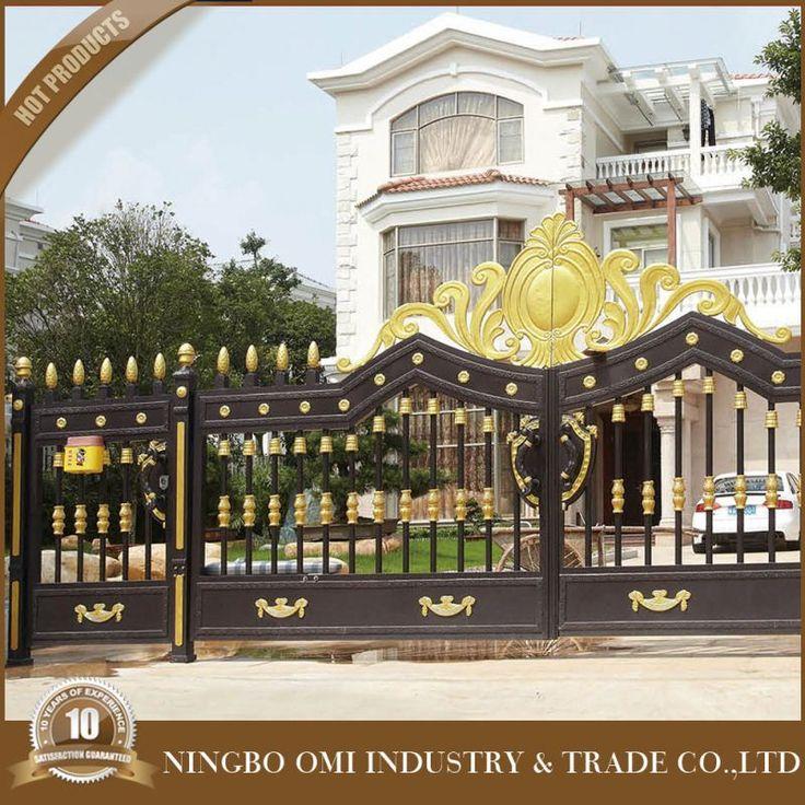 Latest Cheap Indian House Wrought Iron Steel Main Gate: 1000+ Ideas About Aluminum Gates On Pinterest