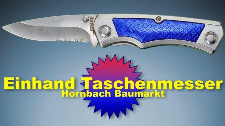Einhand Taschenmesser aus dem Hornbach Baumarkt
