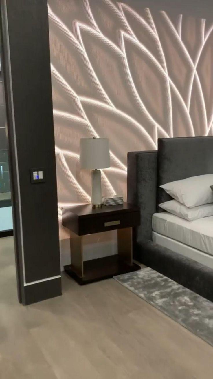 Modern Luxury Bedroom, Luxury Bedroom Design, Modern Master Bedroom, Room Design Bedroom, Bedroom Furniture Design, Home Room Design, Luxury Interior Design, Luxurious Bedrooms, Luxury Living