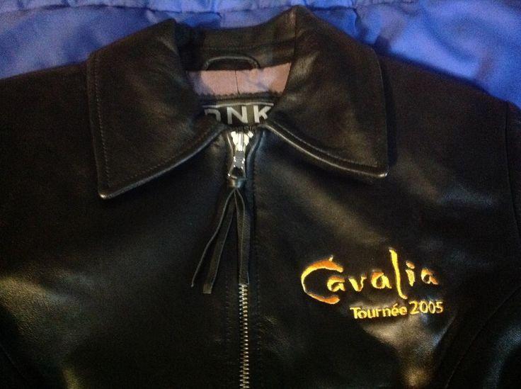 CAVALIA  2005 Quality GENUINE REAL LEATHER JACKET Size 6 Women Equestrian Show…