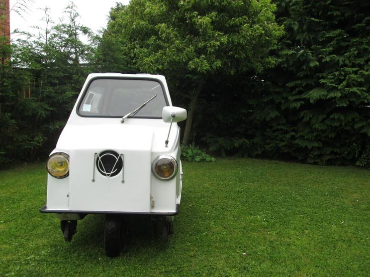 Mini Comtesse Microcar Bubblecar Trike Moped Peel Tiny Barn Find Rare Micro