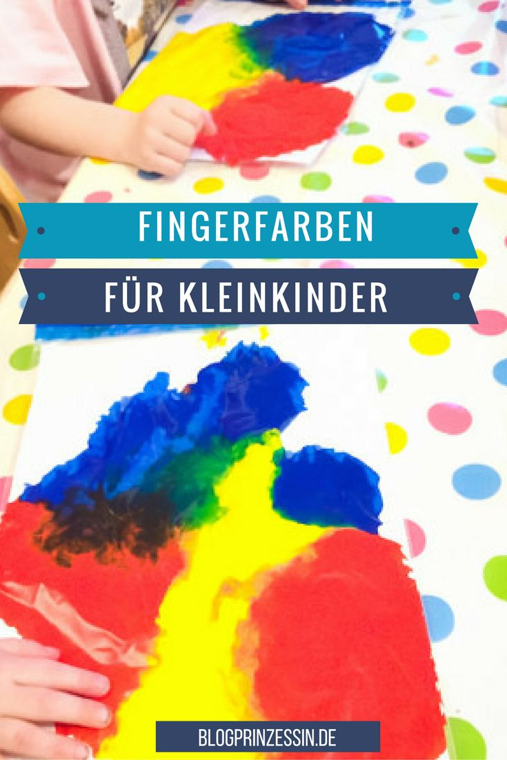 Die 323 besten bilder zu kinder und familie auf pinterest - Fingerfarben ideen ...