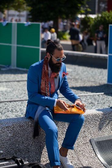 Pitti. Streetstyle Inspiration for Men! #WORMLAND Men's Fashion