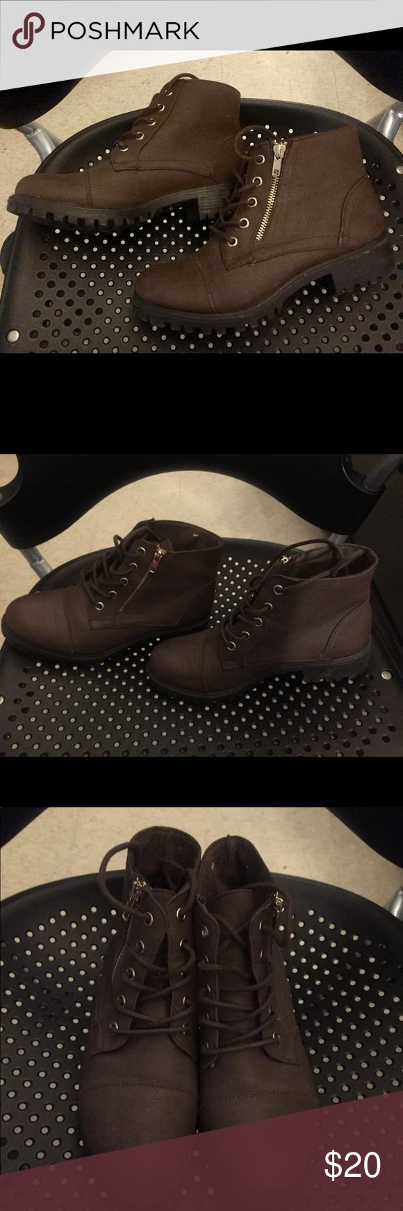 Primark Boots Womens Brown Size 7 Primark Boots Womens  Color: Brown  Size: 7 primark Shoes Winter & Rain Boots