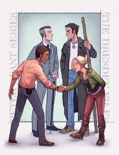 Xserpx: U201c Masters And Apprentices By Aviv Or The Dresden Files Meets Ben  Aaronovitchu0027s Peter Grant Series! (Posted With The Artistu0027s Permission.