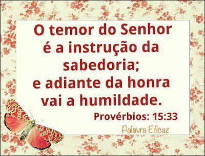 Palavra e Ação : Provérbios 15   Comentário Pr Heber Toth Armí