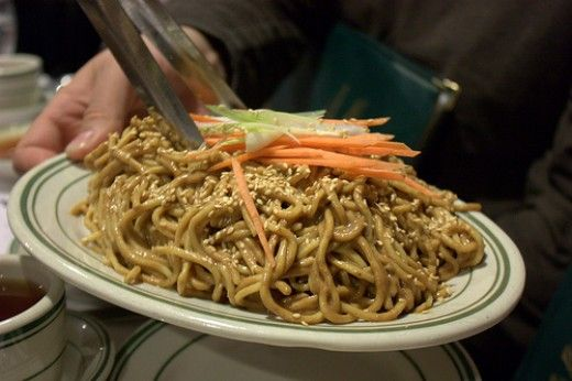 Cooking with Kids - Quick and Easy Chinese Sesame Peanut Noodles Recipe
