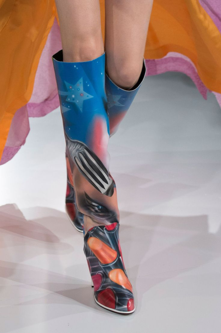 87.jpg John Galliano for Maison Margiela SS 2016 Artisanal  Look 19,odel-Lia…