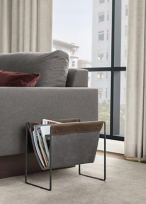 Courier Modern Magazine Stand - Modern Magazine Racks & Storage Bins & Baskets - Modern Home Accessories - Room & Board