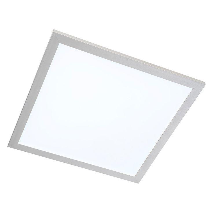 Eek A Led Deckenleuchte Panel Kunststoff Aluminium 1 Flammig 40 Nino Leuchten