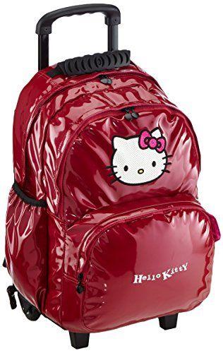 Hello Kitty Sac à Dos Enfants Sac à Dos avec 2 Compartiments Trolley 45 cm Rose (fuchsia): 22 unité(s) de cet article soldée(s) à partir du…