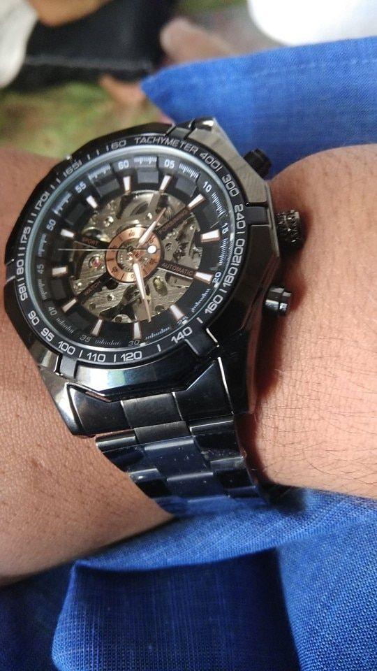 2951bf9fa Winner Watch Men Skeleton Automatic Mechanical Watch Gold Skeleton Vintage  Man Watch Mens FORSINING Watch Top Brand Luxury | Watches | Winner watches,  ...