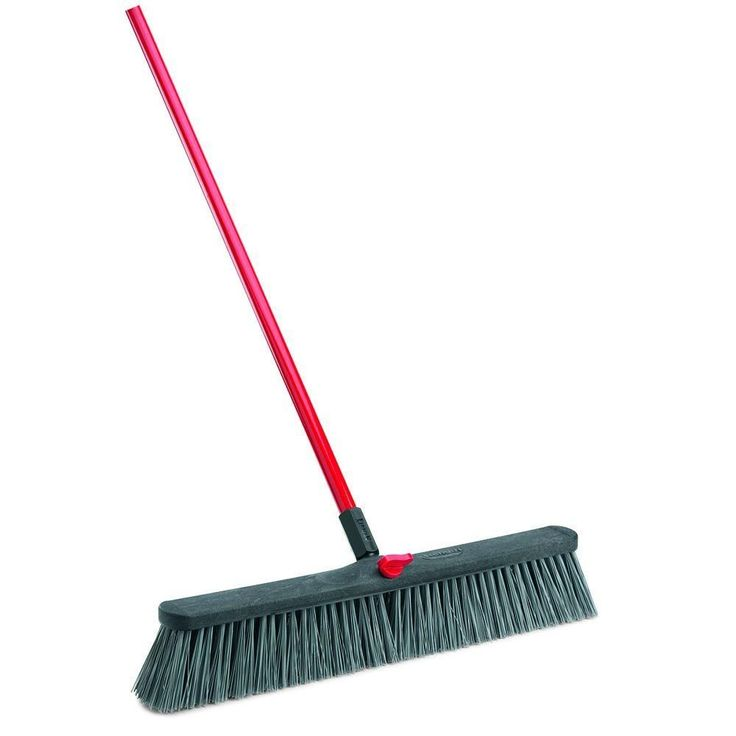 24 in. Rough Surface Push Broom
