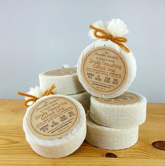 4 pieces of soap | Volume discount soap | Everything, of course | Cruelty free | Handmade | Vegan | Small series | Round bar soap   – Gifts
