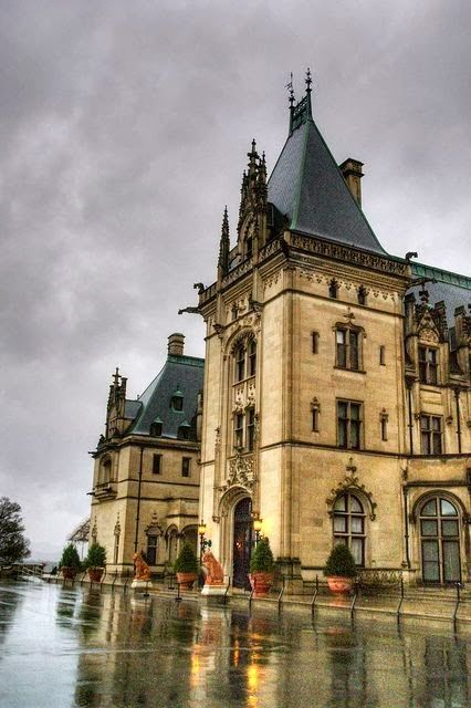 Biltmore House, Asheville, North Carolina..... Thanks to great friends who gave us tickets for our honeymoon :)