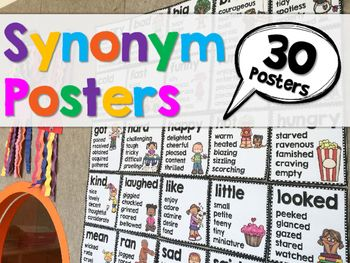 26 best synonyms and antonyms images on pinterest synonyms and i created these synonym posters to expand my kids vocabulary and to spice up their writing solutioingenieria Choice Image