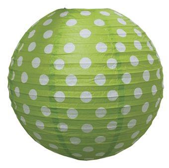 Jabadabado Rislampskärm Lime 40 cm   Inredning Belysning   Jollyroom