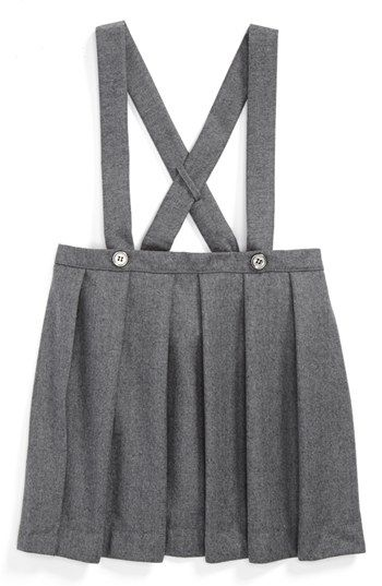 Burberry 'Sofia' Pinafore Skirt (Toddler Girls)   Nordstrom--will be waiting for this to go on sale