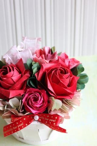 折り紙の : 折り紙の花 : jp.pinterest.com