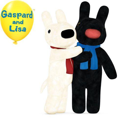 Gaspard and Lisa   Disney Junior