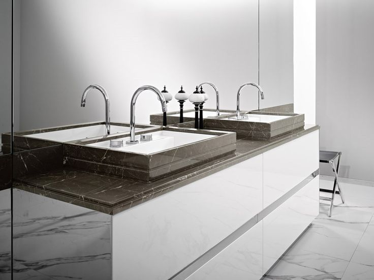 ROCCIA supply this product line: Four Season. Brown sink vanity unit. Contemporary bathroom sink.