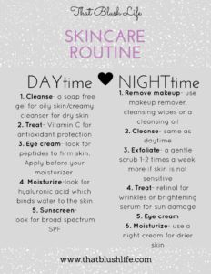 anti-aging skincare routine, how to start a skincare routine, skincare checklist