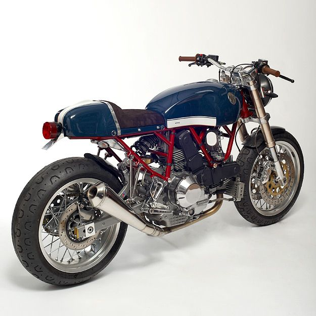 This one-off Walt Siegl Ducati Custom is amazing, too. Look closely, because you'll never get a bike like this.