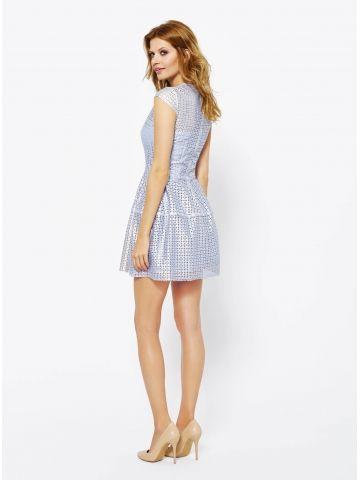 Sukienka Eveline w kolorze błękitnym