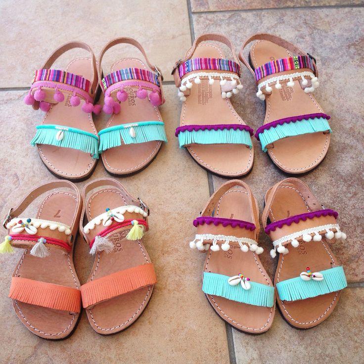 Unique handmade boho sandals