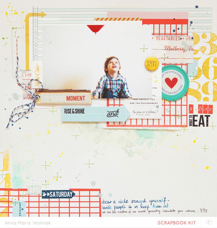 B-day collage layout [Main Kit Only] by ania-maria at @Studio_Calico
