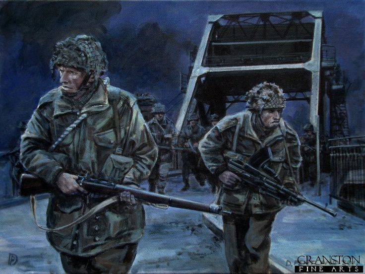British WW2 Pegasus Bridge - 6th British Airborne