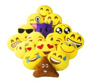 Funk This House | Emoji Pillows – A Soft Way to Express Yourself | http://funkthishouse.com