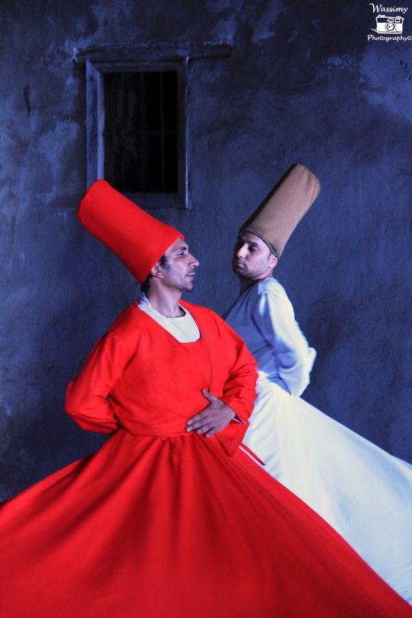 Mawlaweya Dance - Sufi Dance, Invinted By The Famous Turkish Scholar Mad-Wa Jalal Al-Din Al-Rumi