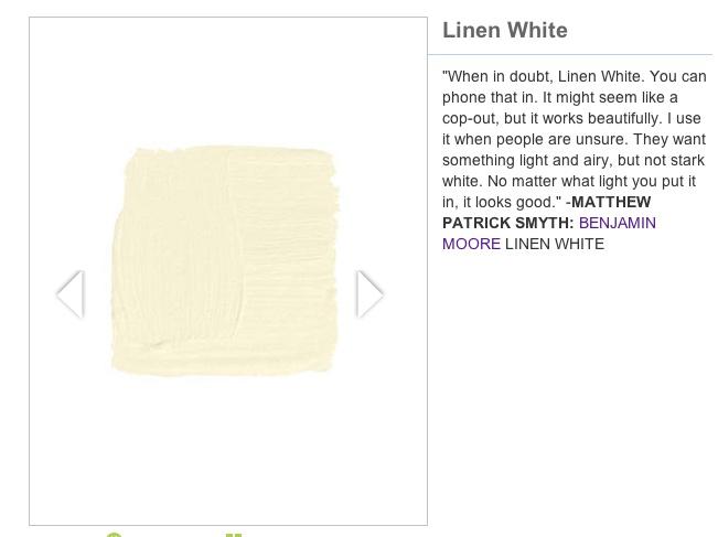 Best Benjamin Moore Linen White Paint Colors Pinterest 400 x 300