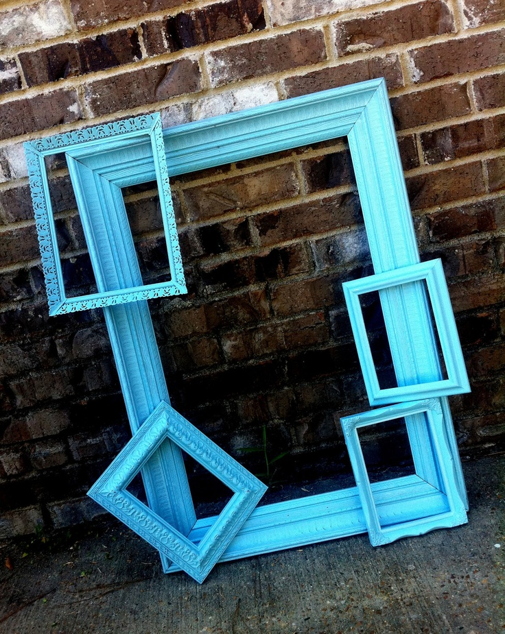 buy cheap frames on clearance or at dollar tree and paint them for a photo booth