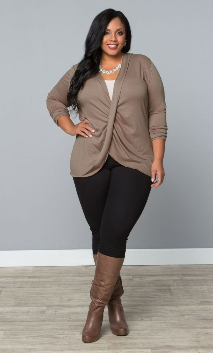Clothing for thick women