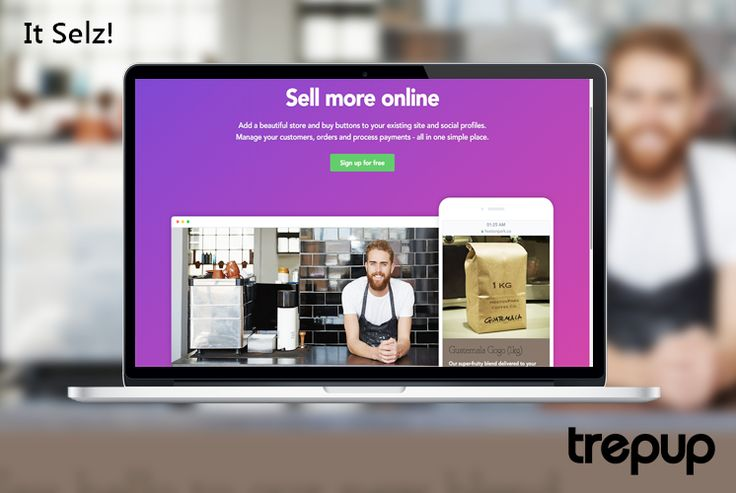 Sell from where you store: Your website, blog and social pages, Selz can help you sell from everywhere. http://trepup.co/20ZmcbQ