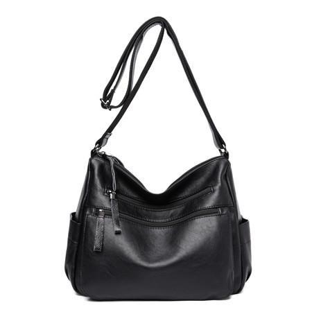 [EBay] Women Leather Handbags Female Casual Shoulder Bags Ladies Shoulder Bag Design Zipper Hobos Women'S Messenger Bags Bolsa Feminina