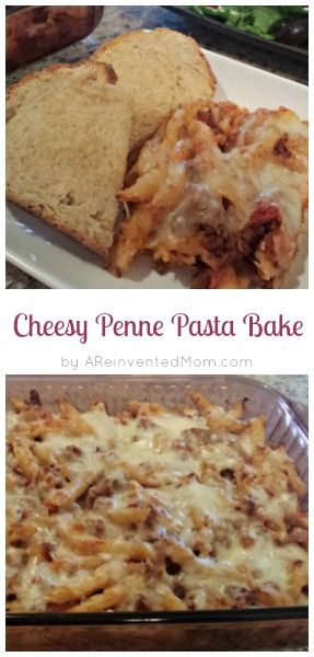 Cheesy Penne Pasta Bake | A Reinvented Mom