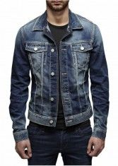 Jack & Jones Herren Jeansjacke JEAN JACKE JJ769 ORG 7-8-9 13 medium blue
