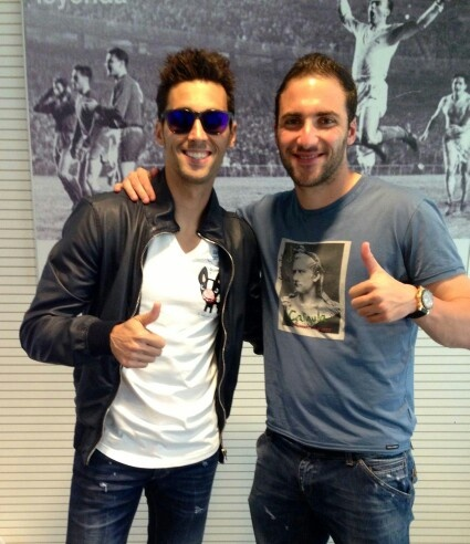 Alvaro Arbeloa & Gonzalo Higuain #RealMadrid