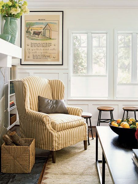striped living room chairs. ticking stripe 194 best Ticking furniture images on Pinterest  Curtains At home
