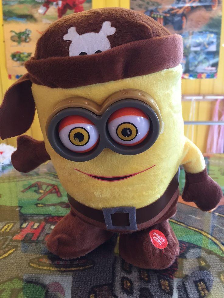 Minions Pirate Chante et Danse! 24.99$ #saintsauveur #jouet @Boitesurprises www.laboiteasurprises.ca