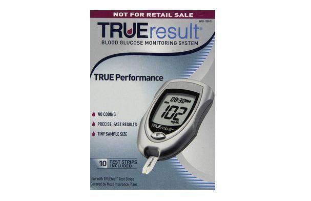 Blood Glucose Starter Kit Diabetes Testing Monitor Sugar Diabetic Kit Free Ship #TRUEtest