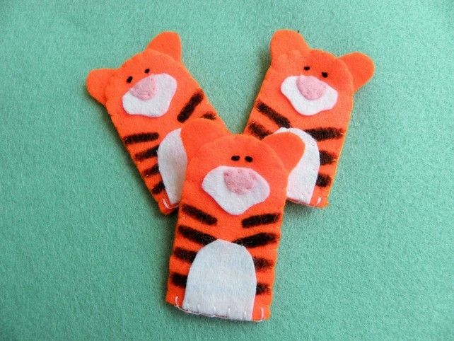 584 best images about finger puppets hand puppets on for Tiger puppet template