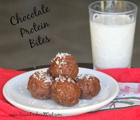 Dawn Dishes It Out: Chocolate Protein Bites