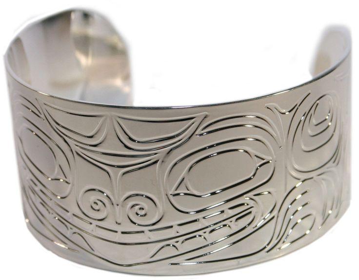 "Silver Bracelet 1.5"" - Bear by Corey Moraes"