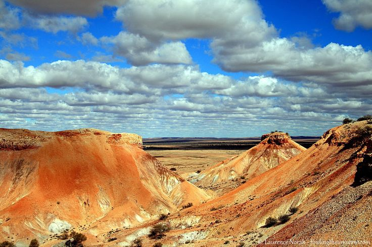 outback could be quite so weirdly colourful. This is the Painted Desert,